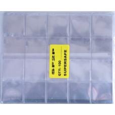 Supersafe 2x2 Coin Flips 100 Count Bag
