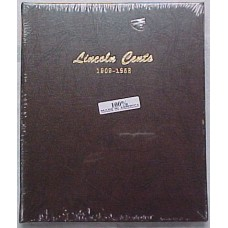 Lincoln Cents 1909-1958 Dansco Album #7103