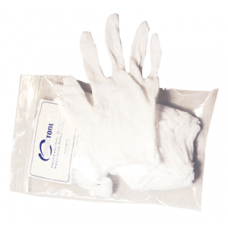 Cotton Gloves - Lightweight - Mens Size Large 12 Pack (6 Pairs)