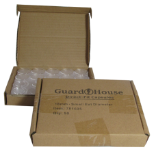 Guardhouse Round Coin Capsules - Dime Direct fit 50ct box