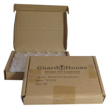 Guardhouse Round Coin Capsules - Cent Direct fit 50ct box