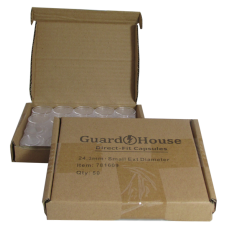Guardhouse Round Coin Capsules - Quarter Direct fit 50ct box
