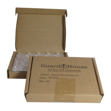 Guardhouse Round Coin Capsules -Small Dollar Direct fit 50ct box
