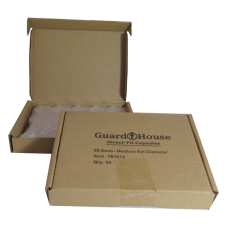 Guardhouse Round Coin Capsules - Half Dollar Direct fit 50ct box