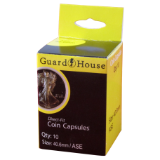 Guardhouse Round Coin Capsules - American Silver Eagles 10ct