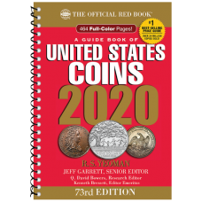 2020 Red Book Price Guide of United States Coins, Spiral