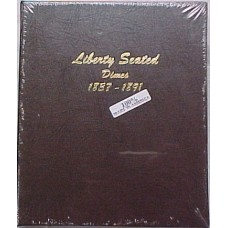Liberty Seated Dimes 1837-1891 Dansco Album #6122