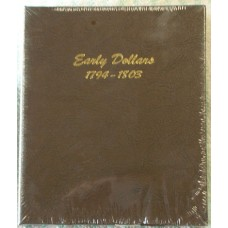 Early Dollars 1794-1803 Dansco Album #6170