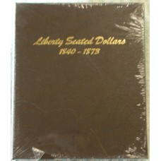 NEW!!! Dansco Coin Album # 6171 For Liberty Seated Dollars From 1840-1873