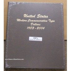 Modern Commemorative Dollar Type Dansco Album #7062 Volume 1