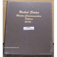Modern Commemorative Dollar Dansco Album #7065 Vol 3 2002-Date