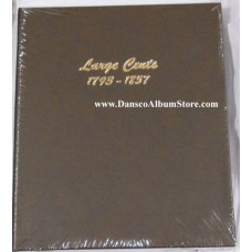 Large Cents 1792-1857 Dansco Album #7099