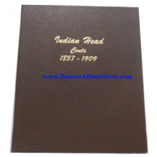 Indian Head Cents 1857-1909 Dansco Album #7101
