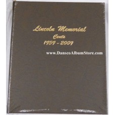 Lincoln Memorial Cents 1959-2009 BU Only Dansco Album #7102