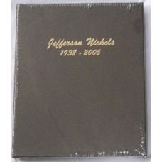 Jefferson Nickels 1938-2005 BU Only Dansco Album #7113