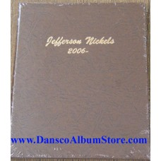 Jefferson Nickels 2006-Date BU Only Dansco Album #7114