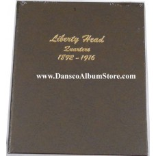 Liberty Head Quarters 1892-1916 Dansco Album #7130