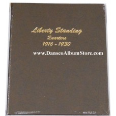 Dansco Coin Album # 8140 For Washington Quarters from 1932-1998 Including Proofs