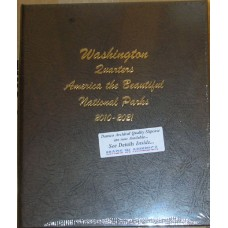 National Park Quarters 2010-2021 P&D Dansco Album #7145