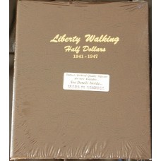 Liberty Walking Half Dollars 1941-1947 Dansco Album #7161