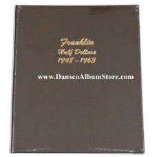 Franklin Half Dollars 1948-1963 Dansco Album #7165
