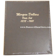Morgan Dollars Date Set 1878-1921 (1 Per Year) Album #7171