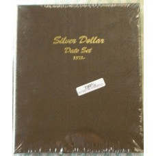 Silver Dollars date set 1878 to date Dansco Album #7172