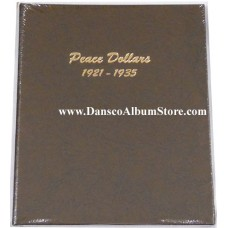 Peace Dollars 1921-1935 Dansco Album #7175
