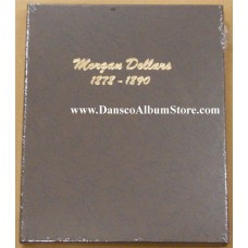 Morgan Dollars 1878-1890 Dansco Album #7178