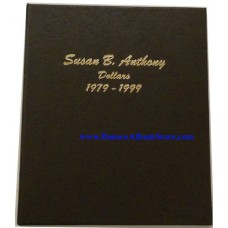 Susan B Anthony 1979-1999 BU Only Dollars Dansco Album #7180