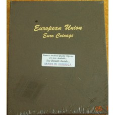 European Union Euro Coinage Dansco Album #7400