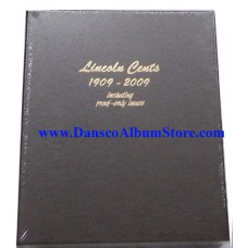 Lincoln Cents 1909-2009 w/Proofs Dansco Album #8100