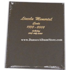 Lincoln Memorial Cents 1959-2009 w/Pr Dansco Album #8102