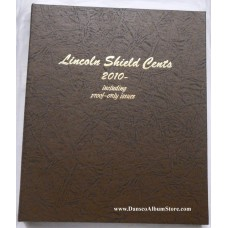 Lincoln Shield Cents 2010-Date w/Proofs Dansco Album #8104