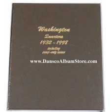 Washington Quarters 1932-1998 including proof Dansco Album #8140