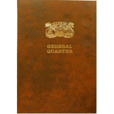 General Quarter Dansco ALL IN ONE Coin Folder #137
