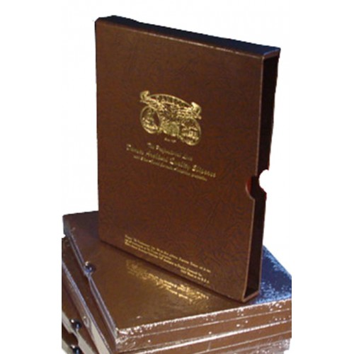 """Dansco Quality Album Slipcase 1/"""" Coin Protection Corrosion Inhibiting Covers NEW"""