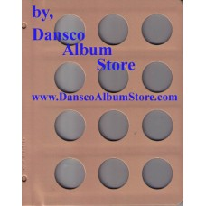 Dansco Blank Millimeter Pages - 35mm Page