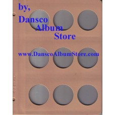 Dansco Blank Millimeter Pages - 42mm Page